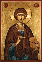Sfântul Mare Mucenic şi Tămăduitor Pantelimon