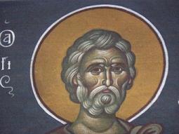 Chip de Sfânt zugrăvit de Fotie Kontoglu