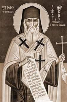 Sfântul Marcu al Efesului, icoană de Fotie Kontoglu