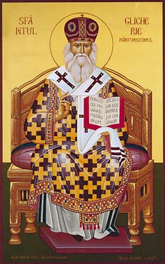 Icoana Sfântului Ierarh Glicherie Mărturisitorul