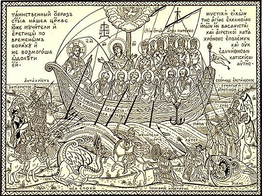 Sfânta noastră Biserică Ortodoxă luptată de vrăjmaşii păgâni şi eretici