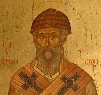 Sfântul Ierarh Spiridon al Trimitundei, Făcătorul de Minuni, prăznuit la 12 /25 decembrie